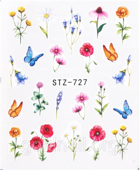Слайдер водний для дизайну нігтів STZ-727