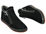 Ботинки подростковые из натуральной замши от производителя модель МАК922, фото 3