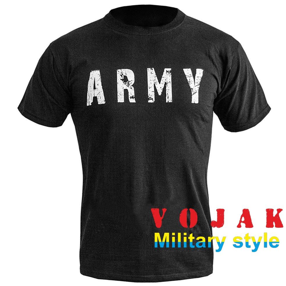 "Футболка с принтом ""ARMY"" BLACK"