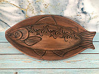 Глиняная селедочница рыбка, фото 1