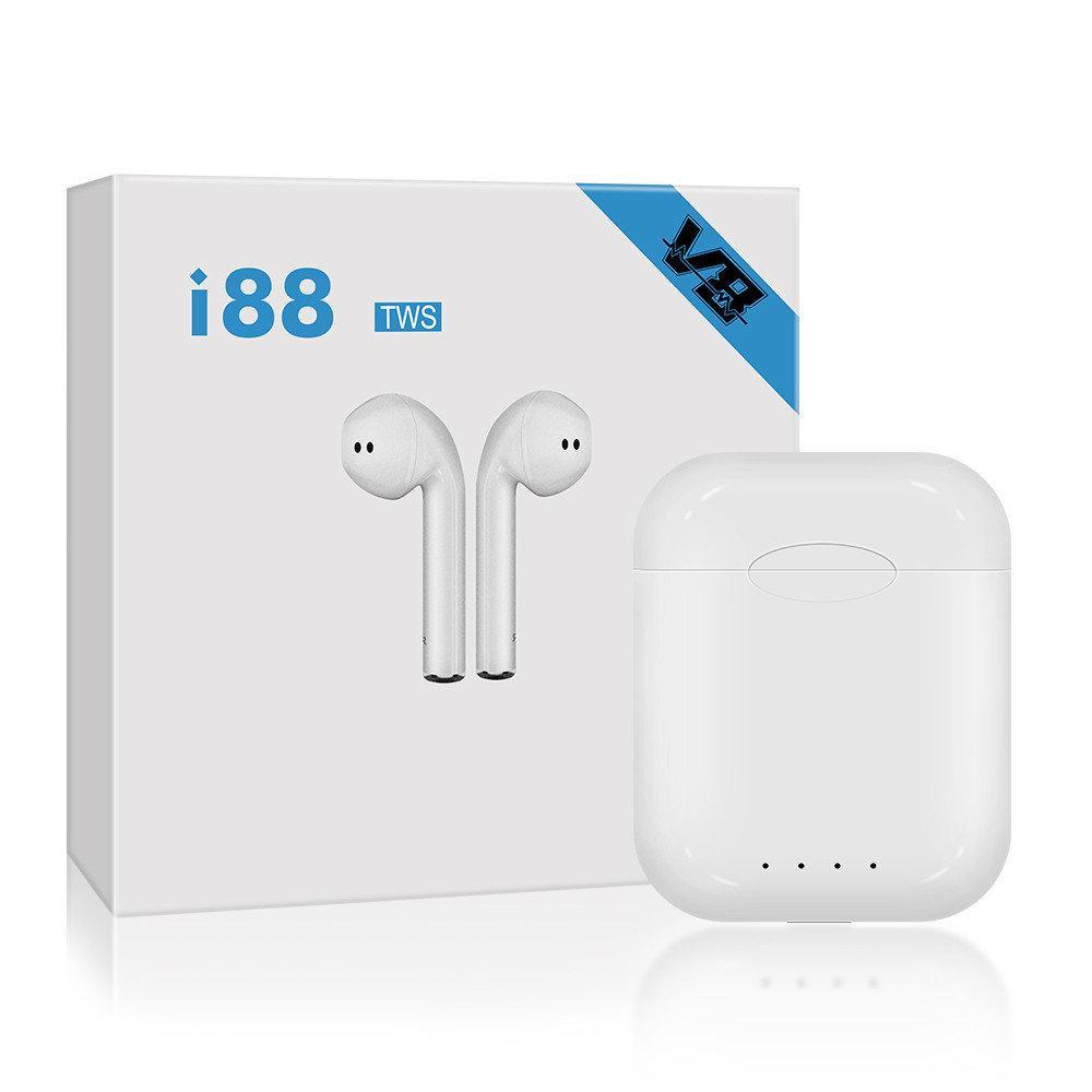 Беспроводные сенсорные Bluetooth наушники i88-TWS