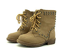 Ботинки JiLi 19 р 13 см Хаки FB707-2B khaki, КОД: 716676