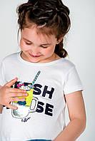 Прикольная Короткая Футболка Для Девочек С Оригинальным И Привлекательным Принтом TIFFOSI, Португалия
