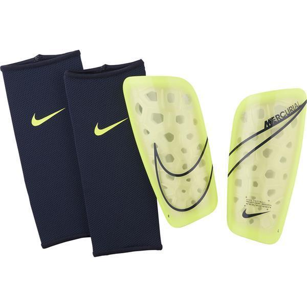Щитки футбольные Nike Mercurial Lite SP2120-704 Желтий с черным Размер S (193145983663)