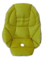 Чехол к стульчику для кормления Peg-Perego Tatamia Желтый, фото 1