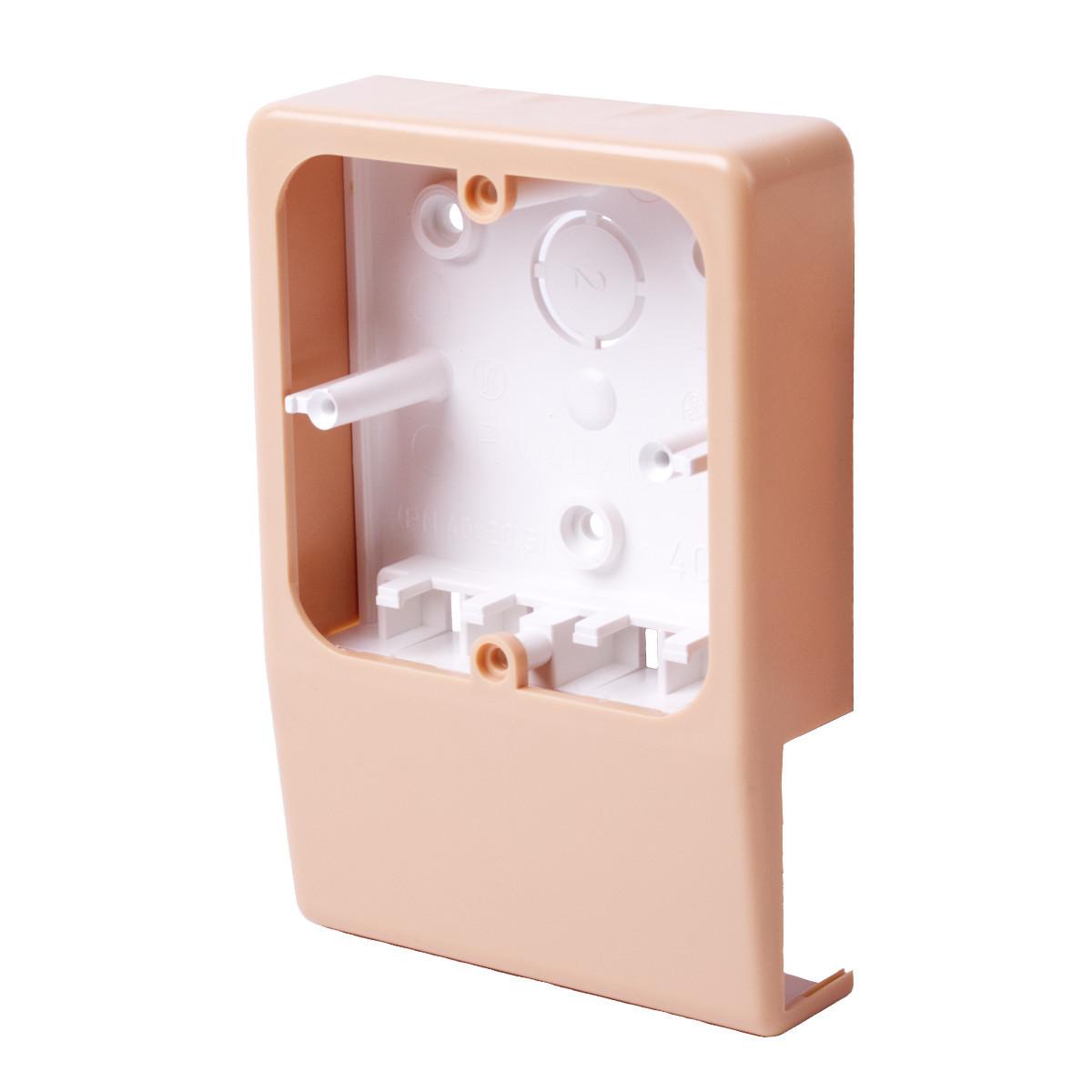 Приладовий носій для  кабельних каналів LV 40x15 (береза рожева)