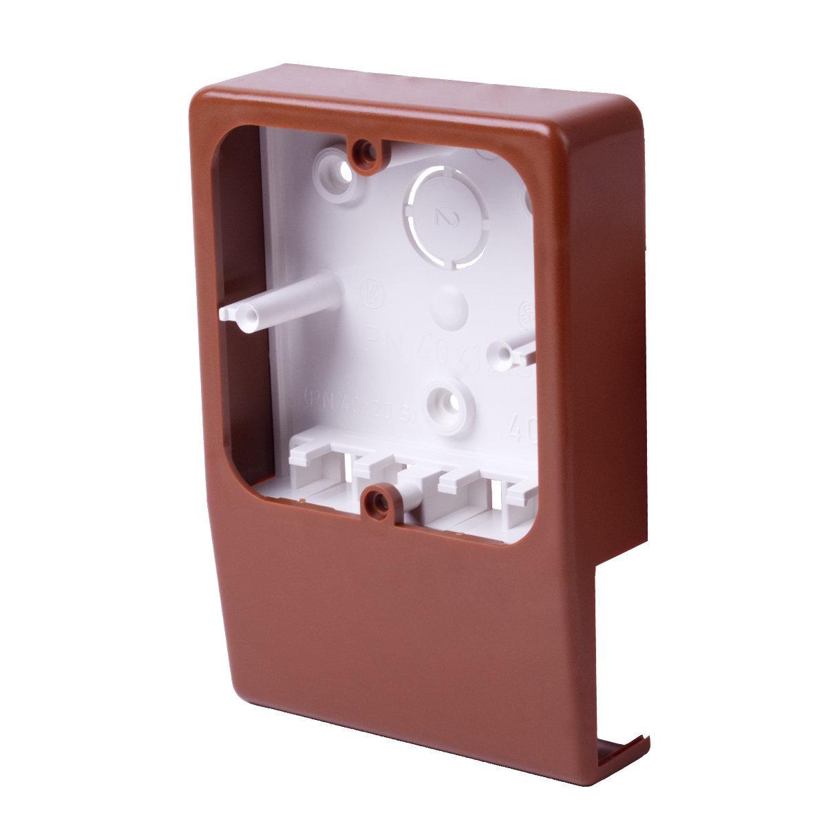 Приладовий носій для  кабельних каналів LV 40x15 (дуб)