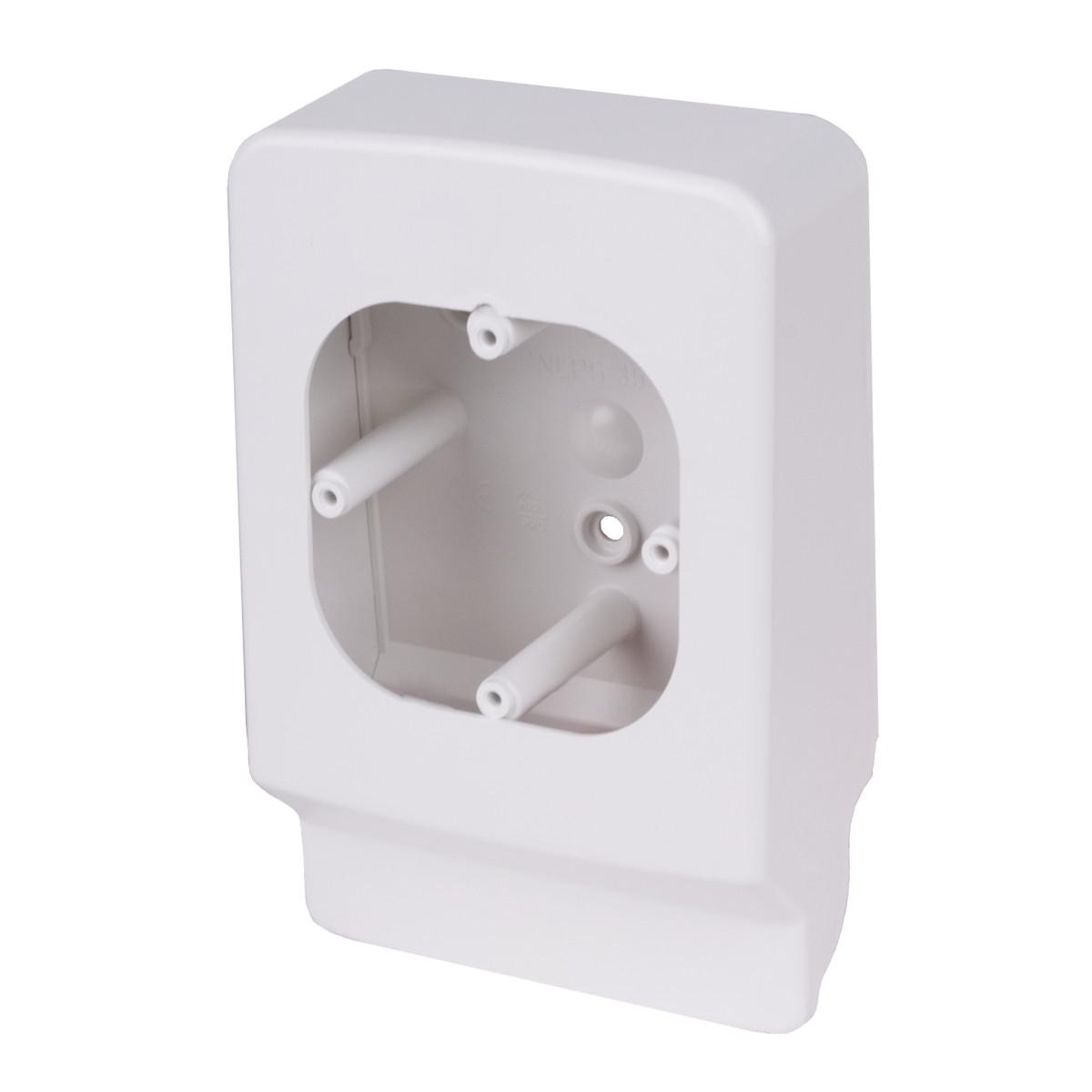Приладовий носій для  кабельних каналів LP 35 (білий)