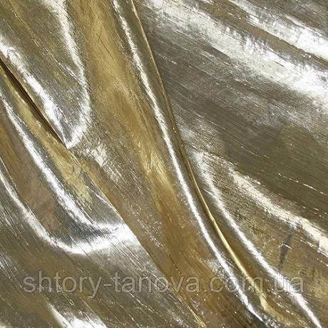 Декор органза искра золото