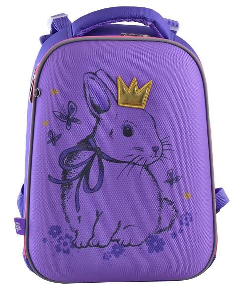 556050 Каркасный школьный рюкзак Yes H-12 Honey Bunny  29*38*15