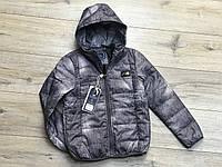 Демисезонная куртка на синтепоне для мальчиков. 10  лет.