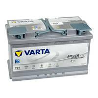Аккумулятор 6СТ-80A VARTA Silver Dynamic AGM F21 (580901080),12V,80Ah (-/+) Варта, 12В, 80Ач, EN800А