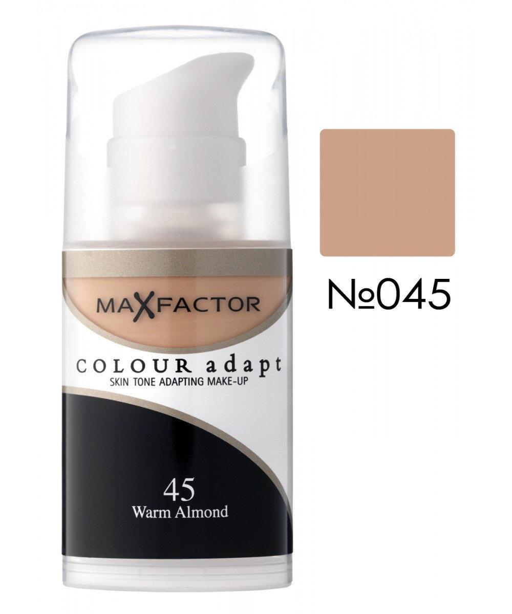 MF Colour Adapt тон. крем №45 (warm almond) 34мл