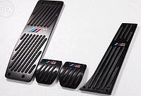 Накладки на педали BMW E34 E39 E46 E53 E84 E87 E90 E92 в М-стиле Black бмв е34 е39 е46 е53 е84 е87 е90 е92