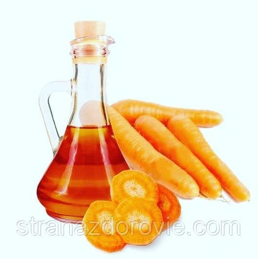 Делаем лекарство - морковное масло.