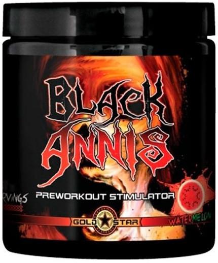 Предтренировочный комплекс GoldStar - Black Annis DMAA (150 грамм) фруктовый пунш