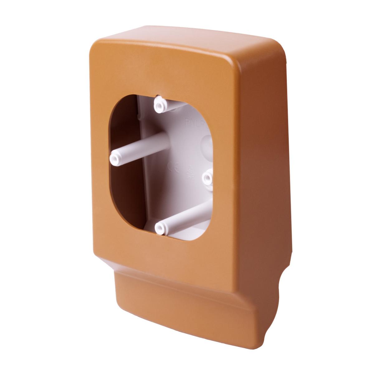 Приладовий носій для  кабельних каналів LP 35 (світле дерево)