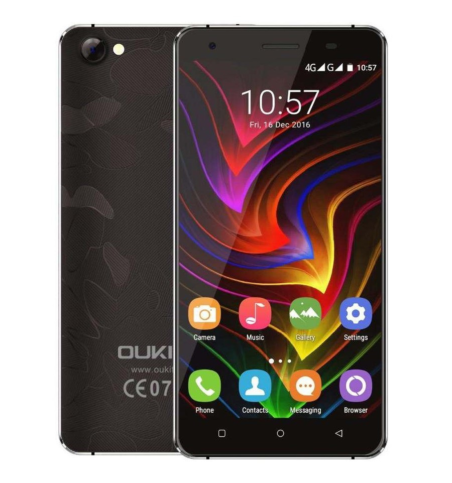"Смартфон Oukitel C5 Pro Black 2/16gb, 8/5 Мп, 2sim, экран 5"" IPS, 2000mAh, 4G, 4 ядра, Android 6.0"