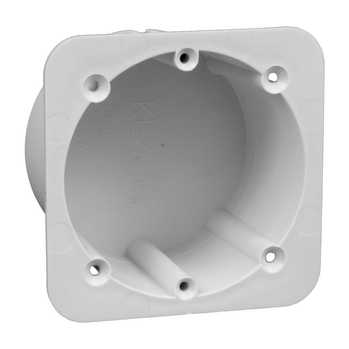 Запасна частина коробки KEZ  (використовується при термоізоляції будівель) матеріал -ПП; розміри 76х60х74мм