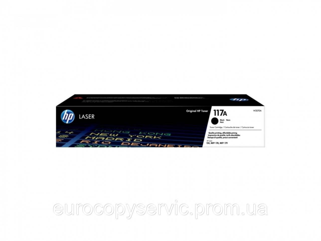 Тонер-картридж HP 117A Black Laser (W2070A) Original