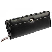 Футляр для ручек кожаный Rovicky на молнии LI-2571-ASL Black