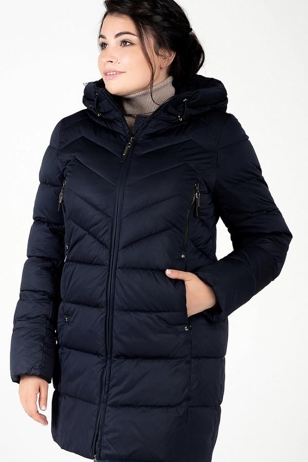 Женская куртка Лора синий (48-58)