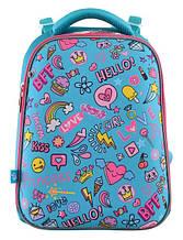 556048 Каркасный школьный рюкзак Yes H-12 Fun Mood 29*38*15
