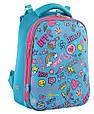 556048 Каркасный школьный рюкзак Yes H-12 Fun Mood 29*38*15, фото 2