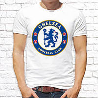 """Мужская футболка с принтом футбольного клуба """"Chelsea"""" Push IT"""