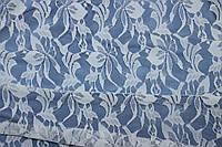 Ткань гипюр стрейч дизайн №104 белый, фото 1