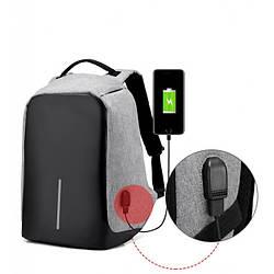 Рюкзак городской, школьный Bobby с USB
