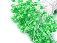 Тычинки 3-4мм cв.зеленые 50 шт