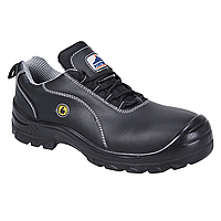 PORTWEST COMPOSITELITE ESD LEATHER SAFETY SHOE S1 - FC02