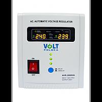 Стабилизатор напряжения Volt Polska AVR 2000 VA белый (5AVR2000SE)