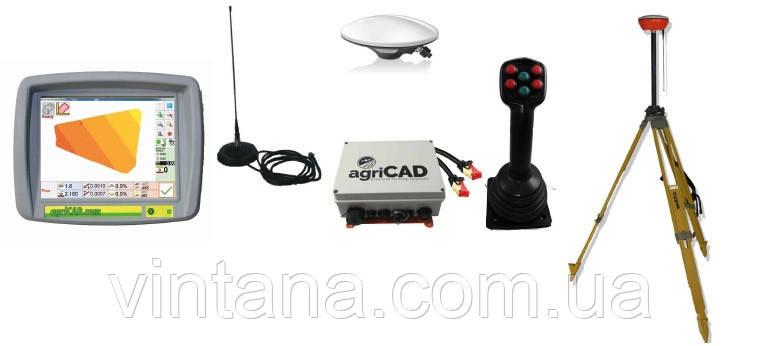 GPS системы для выравнивания участка земли в сельском хозяйстве