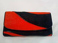 Оригинальное изделие из кожи морского ската, кошелёк женский. 19*11*4 см.Производство - Таиланд.
