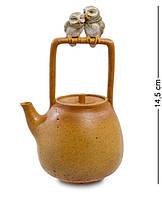 Статуэтка Пара сов на чайнике ED-441