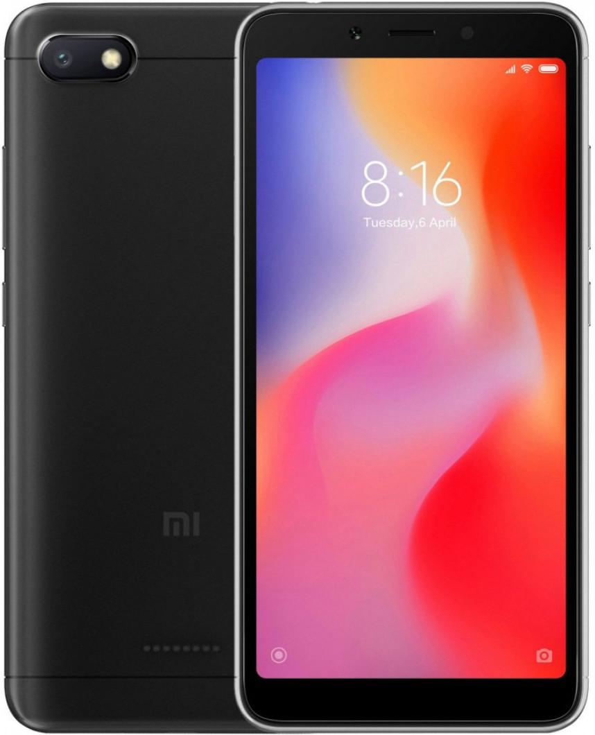 Xiaomi Redmi 6A 2/16 | Черный | Global | 4G/LTE | Гарантия