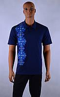 """Чоловіча футболка вишиванка  """"Поло"""", фото 1"""