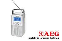 Качественное радио AEG(Германия) с аккумулятором и хорошим звуком