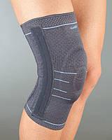 Бандаж на колено с гелевой подушечкой и 4 ребрами жесткости тм Aurafix 114