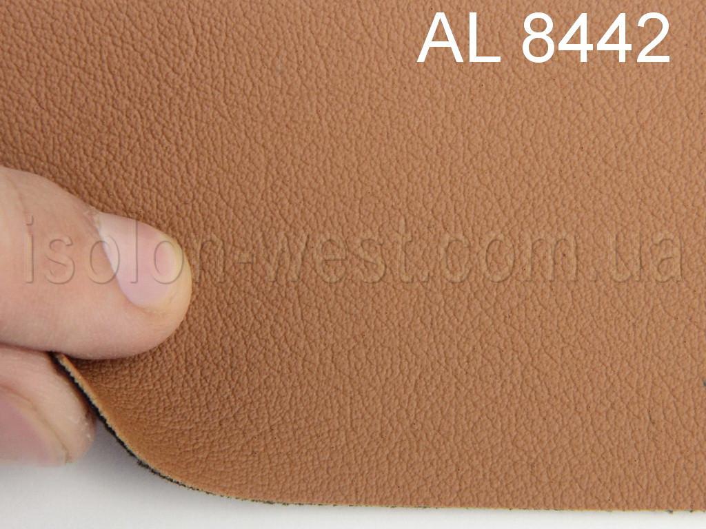 Авто кожзам (блідо помаранчевої) на тканинній основі
