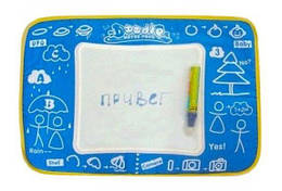 Коврик для рисования водой MOMMY LOVE, синий (RIV1-1)