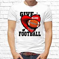 """Чоловіча футболка з принтом """"Give football"""" Push IT"""