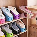 Подставка для обуви Double Shoe Racks, фото 7