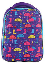 556044 Рюкзак школьный каркасный Yes H-12 Umbrellas 29*38*15