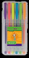 Набір  гелевих ручок Zibi NEON 6 шт., 0.7 мм., асорті (ZB.2201-99)