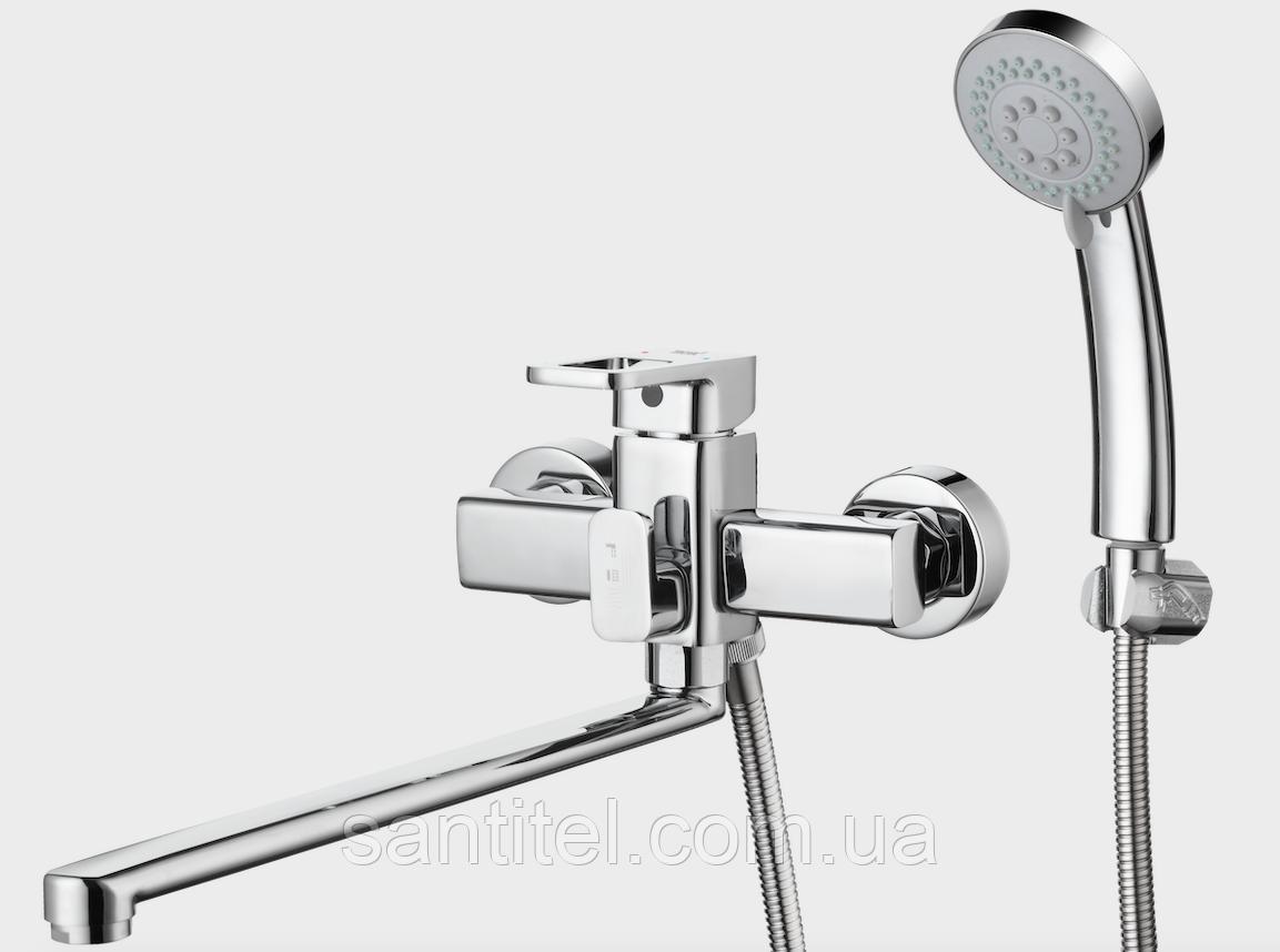 Смеситель для ванны с поворотным изливом G-lauf Gor7-A058