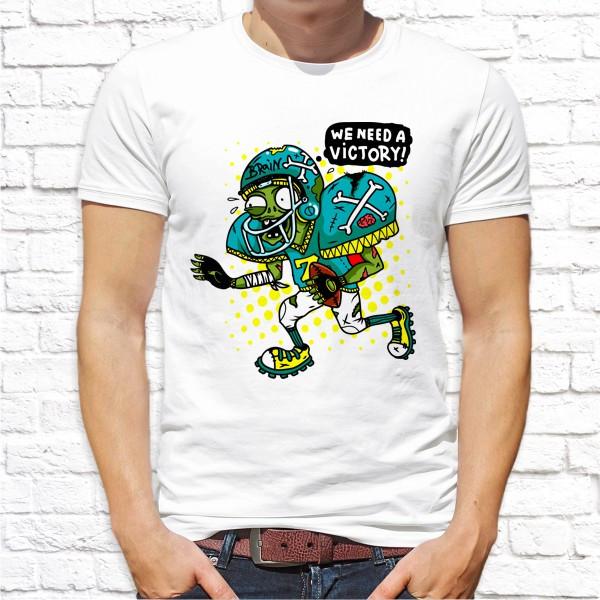 """Мужская футболка Push IT с принтом """"We need a victory!"""""""