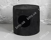 Гумова бочка чорна, фото 1